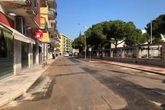 Bari, terminati i lavori per la rete gas. Riapre al traffico via Re David