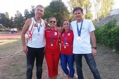 L'Atletica CUS Bari fa incetta di medaglie ai campionati regionali