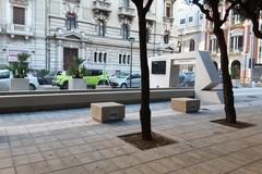 Piazzetta di corso Cavour, quasi pronta per l'inaugurazione