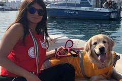 Bambino rischia di affogare, cane bagnino lo salva