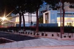 Bari, a Parco Braille montata la recinzione e i primi tratti di ciclabile