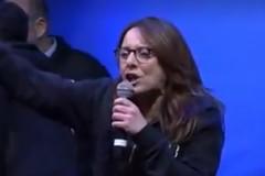Salvini a Bari, il lapsus della leghista corre via social