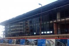 Stazione di Bari, prende forma il nuovo edificio su via Capruzzi
