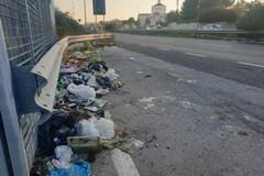 Bari, in via Tatarella una discarica a cielo aperto