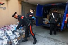 I carabinieri di Bari sequestrano 112 kg di droga