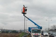 Nuova illuminazione a led in via Tatarella, partita la seconda tranche dei lavori
