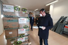 Coronavirus, la città cinese di Canton dona a Bari mascherine e termoscanner