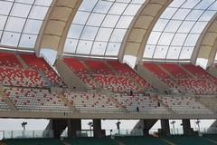 Stadio San Nicola di Bari, seggiolini pronti per domenica in tribuna est superiore