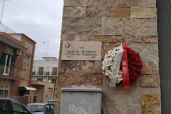 Giornata contro la violenza sulle donne, a Bari una corona in memoria di Santa Scorese