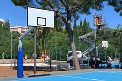 Parco 2 giugno, installate quattro videocamere sui campi da basket