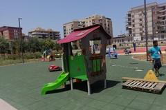 Bari, prende forma il parco dell'ex Rossani: quasi pronte le aree ludiche e sportive
