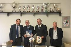 Il calcio dilettantistico a Bari e provincia, la commissione consigliare Sport incontra il presidente Tisci