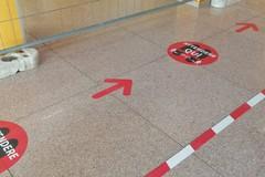 Marker segnaposto e termoscanner all'ingresso, i protocolli di sicurezza ospedaliera di Asl Bari