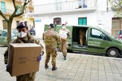 Coronavirus, l'Esercito consegna viveri alle Caritas di Altamura e Gravina in Puglia