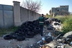 Stanic, ancora rifiuti abbandonati in strada Deserto. Intervengono i Rangers Puglia
