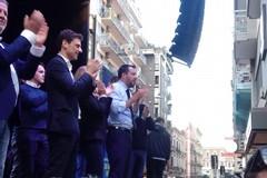 Il comizio di Salvini a Bari