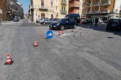 I controlli della polizia locale a Bari