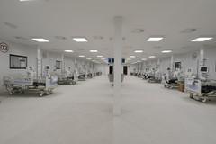Pronto per il 15 gennaio l'ospedale Covid in Fiera a Bari, saranno 152 i posti