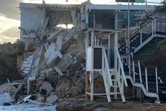 Crollo a Porto Giardino, poche settimane per bonifica e messa in sicurezza