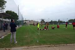 SSC Bari, allenamento sotto gli occhi di De Laurentiis: «Gruppo forte e motivato»