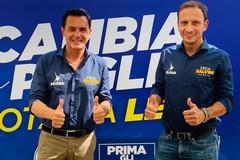 Regionali, Fedriga a Bari parla del governo leghista in Friuli Venezia-Giulia