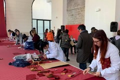 Bari, i tessuti di scarto del Piccinni diventano prodotti di sartoria