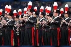 La banda dei carabinieri chiude i festeggiamenti per i 205 anni dell'arma