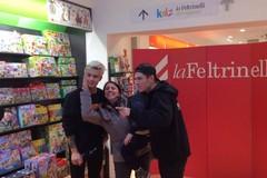 Benji e Fede incontrano i fan alla Feltrinelli di Bari - LE FOTO