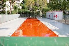Bari, il campo di bocce del parco 2 Giugno si rifà il look