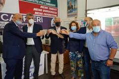 Regionali, Carrieri inaugura il comitato elettorale a Bari con Tajani