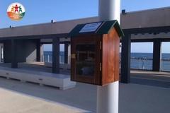 """Bari, sul lungomare di San Girolamo arriva la """"casetta"""" per lo scambio di libri"""