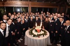 """La SSC Bari presenta il calendario ufficiale, poi la cena di Natale """"in famiglia"""""""