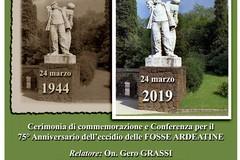 Eccidio delle Fosse Ardeatine, al Sacrario militare la cerimonia di commemorazione