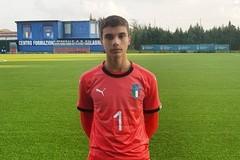 SSC Bari, il giovane portiere Turi convocato in nazionale per il torneo under15