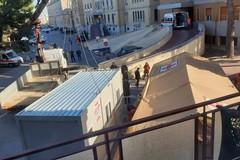 Coronavirus, al Di Venere di Bari arrivano i container per il pre-triage dei pazienti
