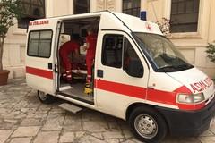 Università di Bari, la Croce rossa in servizio durante i test per le facoltà a numero chiuso