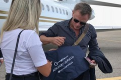Daniel Craig arriva a Bari, l'attore inglese pronto a girare il nuovo James Bond