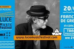 Luce Music Festival, a Trani i concerti di Francesco De Gregori e Fabrizio Moro