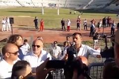 Decaro incontra i tifosi del Bari