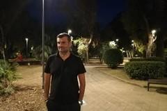 Accensione delle luci nella pineta San Francesco lato terra