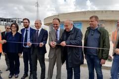 Casamassima, inaugurato il nuovo impianto di depurazione delle acque