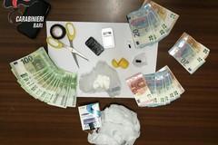 Noci, sorpreso con 37 grammi di cocaina. Arrestato pusher 23enne