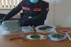 Altamura, nascondeva in casa 1,2 chili di marijuana: arrestato 21enne