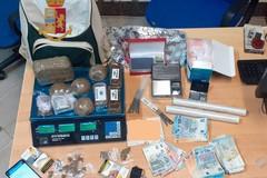 Bari, nasconde 1,3 chili di hashish in casa: arrestato 50enne