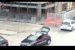 L'operazione anti-estorsioni al San Paolo