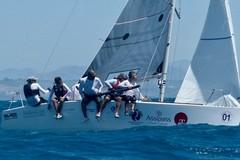 "Circolo Vela Bari, ""Euz II"" di Francesco Lanera campione d'Italia Platu25"