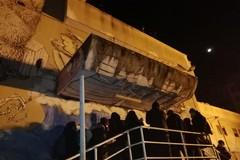 Ex Socrate, dopo l'incendio i residenti rientrano nell'edificio