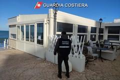 Il sequestro dei due ristoranti a San Cataldo