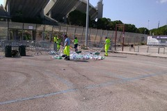 Live di Vasco a Bari, sanzionati 15 parcheggiatori abusivi e sequestrata merce irregolare e gadget