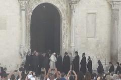 Papa Francesco è arrivato a Bari, iniziata la giornata di preghiera